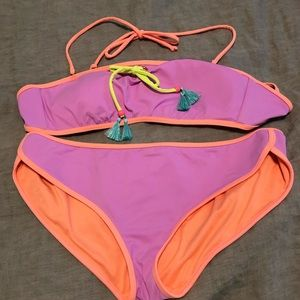 VS Colorblock Bandeau Bikini
